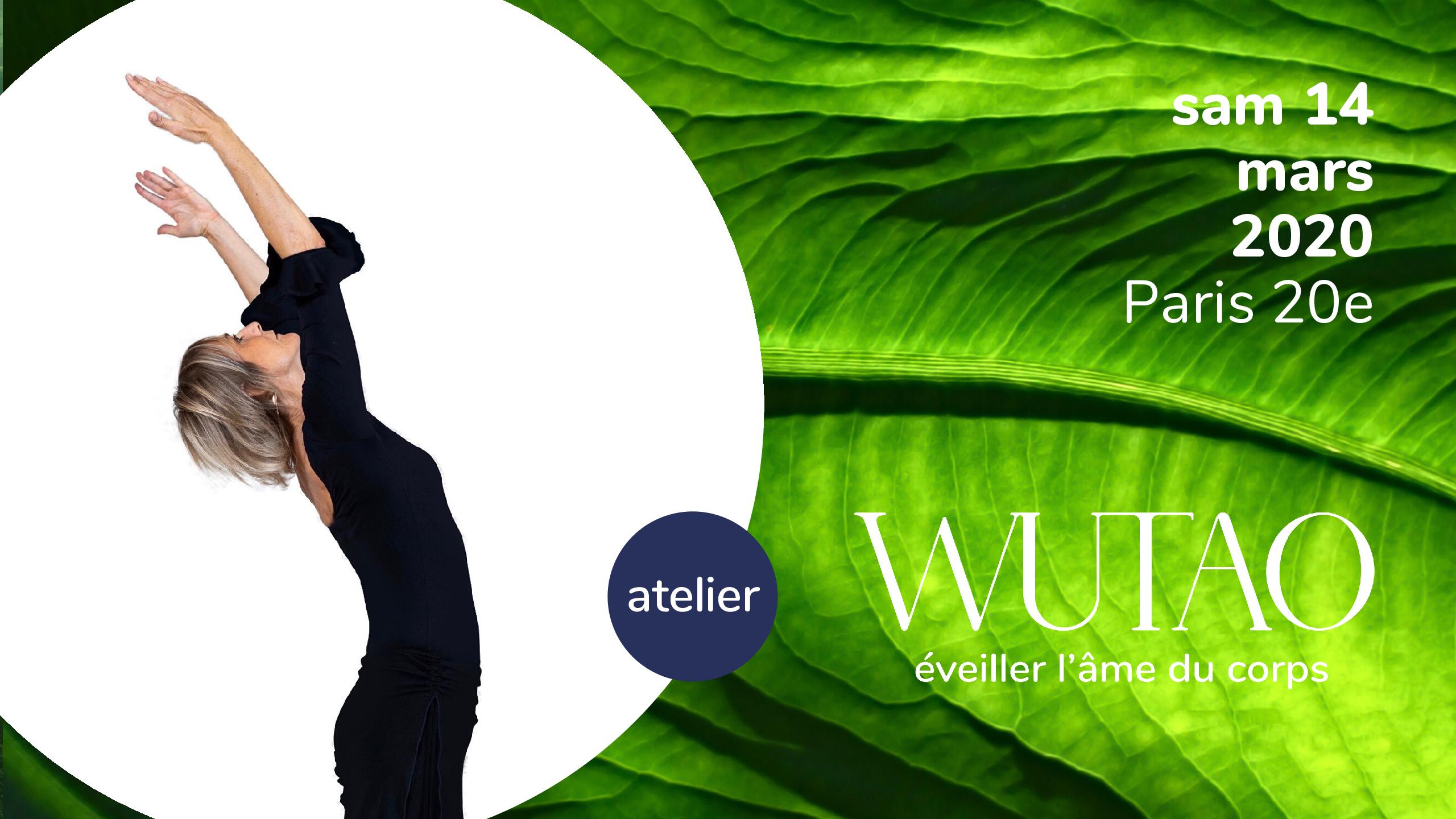 Atelier de WUTAO® sam 14 mars 10h30-12h30